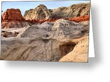 Utah Badlands Greeting Card