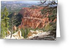 Utah Bryce Canyon Greeting Card