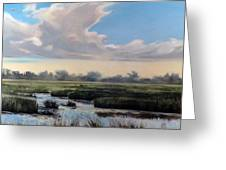 Utah County Marsh Greeting Card