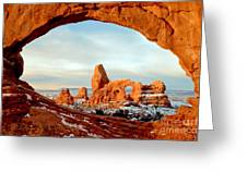Utah Golden Arches Greeting Card