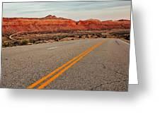 Utah Highway Greeting Card