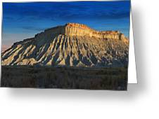Utah Outback 40 Panoramic Greeting Card