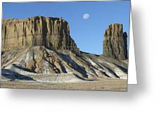 Utah Outback 41 Panoramic Greeting Card