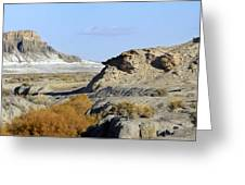 Utah Outback 42 Panoramic Greeting Card by Mike McGlothlen