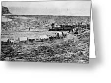 Utah Railroad, 1869 Greeting Card