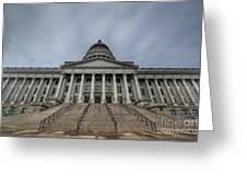 Utah State Capitol Building Greeting Card
