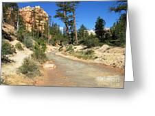 Utah Stream Greeting Card