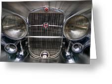 V 16 Cadillac Greeting Card