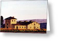 V. Sattui Winery Greeting Card