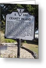 Va-k266 Craney Island Greeting Card