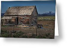 Vacant Homestead Greeting Card