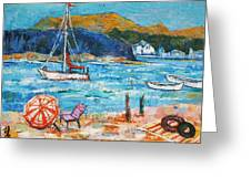 Vacation By The Sea Greeting Card