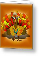 Vacation Turkey Illustration Greeting Card