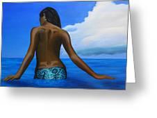 Vahine De Tahiti Greeting Card