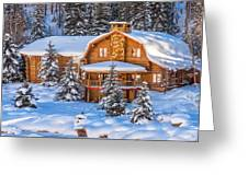 Vail Chalet Greeting Card