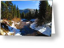 Vail Colorado Greeting Card