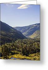Vail In Summer Greeting Card