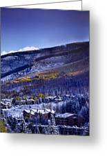 Vail Sunrise Greeting Card