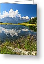 Val Di Sole - Covel Lake Greeting Card