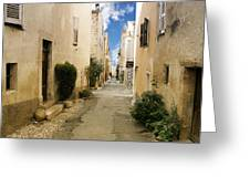 Valbonne - History And Charm  Greeting Card by Christine Till