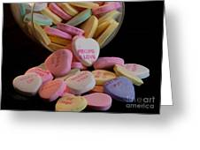 Valentine Candy 5 Greeting Card