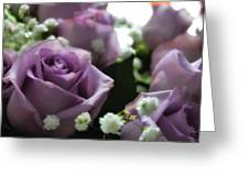 Valentine Purple Greeting Card