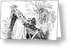 Valentines Day, 1855 Greeting Card