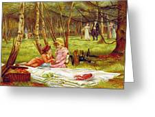 Valentines Day, 1883 Greeting Card