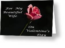 Valentine's Day Wife Greeting Card