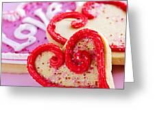 Valentines Hearts Greeting Card by Elena Elisseeva