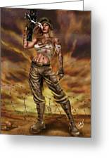 Valkyrie One Greeting Card