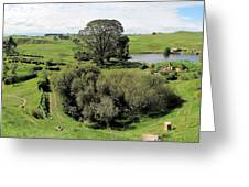 Valley At Hobbiton Nz Greeting Card