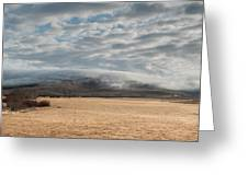 Valley Clouds Greeting Card