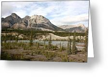 Valley Crossing - Yoho National Park, British Columbia Greeting Card