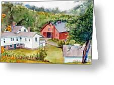 Valley Falls Greeting Card