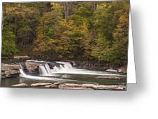 Valley Falls Scene 1 Greeting Card