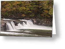 Valley Falls Scene 2 Greeting Card