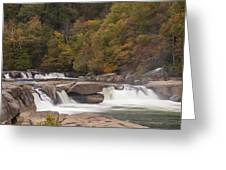 Valley Falls Scene 6 Greeting Card