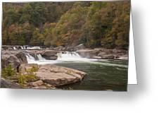Valley Falls Scene 7 Greeting Card