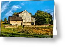 Valley Forge Barn Greeting Card