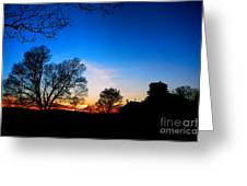 Valley Forge Evening  Greeting Card