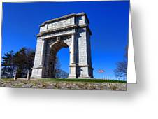 Valley Forge Glory Greeting Card