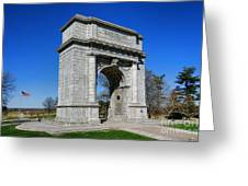 Valley Forge National Memorial Arch Greeting Card