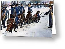 Valley Forge: Steuben, 1778 Greeting Card