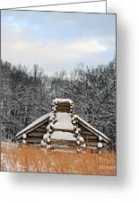 Valley Forge Winter 1 Greeting Card