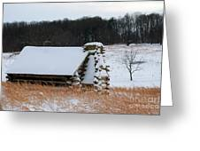 Valley Forge Winter 10 Greeting Card