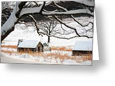 Valley Forge Winter 14 Greeting Card