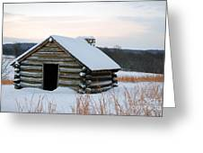 Valley Forge Winter 2 Greeting Card