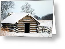 Valley Forge Winter 3 Greeting Card