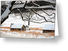 Valley Forge Winter 4 Greeting Card
